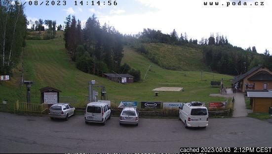 Hlinsko v Čechách webcam at 2pm yesterday