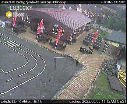 Hlubočky webcam at lunchtime today