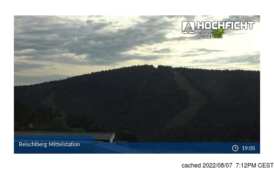 Live Snow webcam for Hochficht-Schwarzenberg