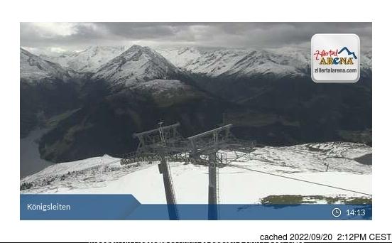 Hochzillertal-Kaltenbach webcam at 2pm yesterday
