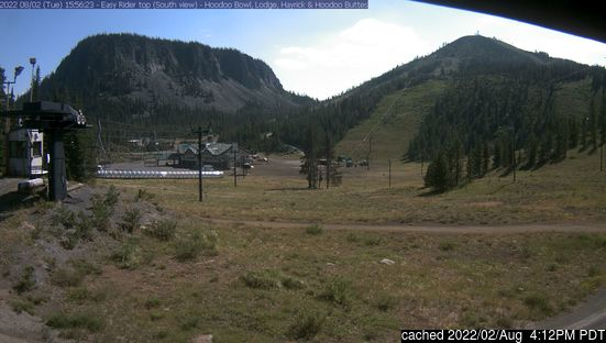 Live Snow webcam for Hoodoo Ski Area