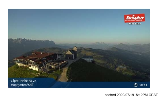 Živá webkamera pro středisko Hopfgarten