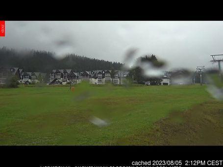 Horní Mísečky - Medvědín webcam at 2pm yesterday