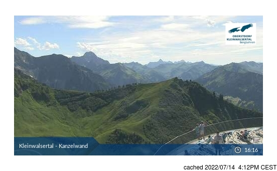 Live Snow webcam for Ifen (Kleinwalsertal)