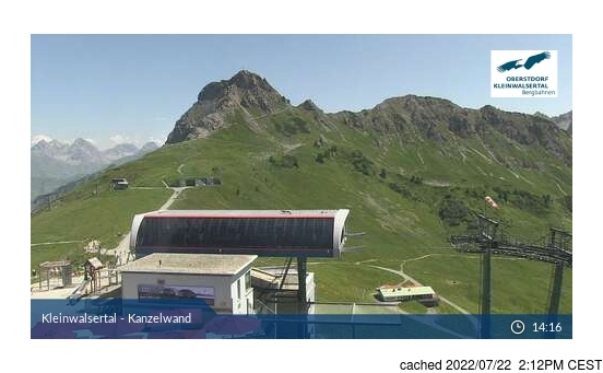 Webcam en vivo para Ifen (Kleinwalsertal)