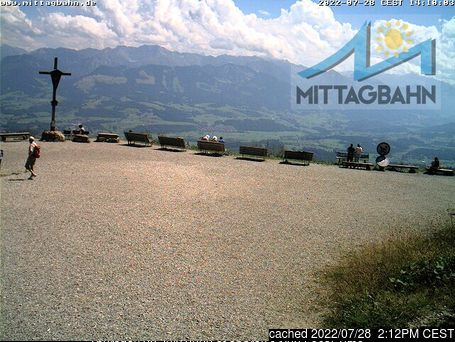 Immenstadt webcam at lunchtime today