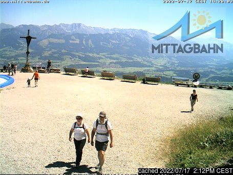 Immenstadt webcam at 2pm yesterday