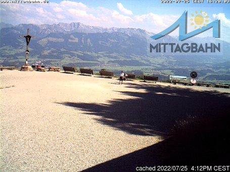 Live Snow webcam for Immenstadt