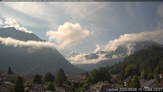 Interlaken webcam at lunchtime today