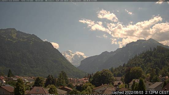 Interlaken webcam at 2pm yesterday
