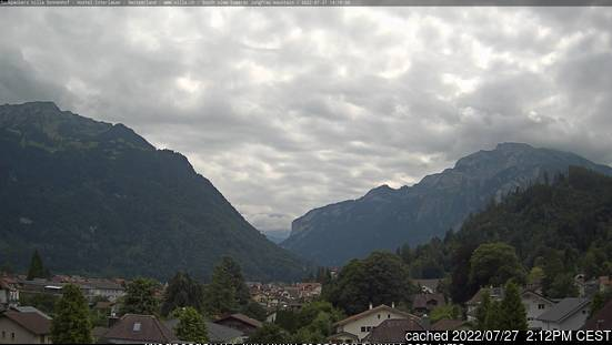 Webcam de Interlaken à 14h hier