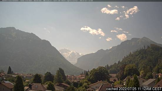 Live Snow webcam for Interlaken