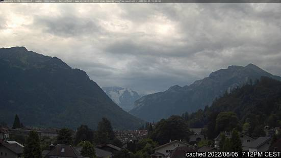 Live Sneeuw Webcam voor Interlaken
