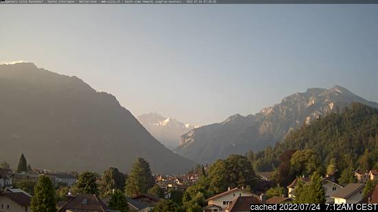 Live Webcam für Interlaken