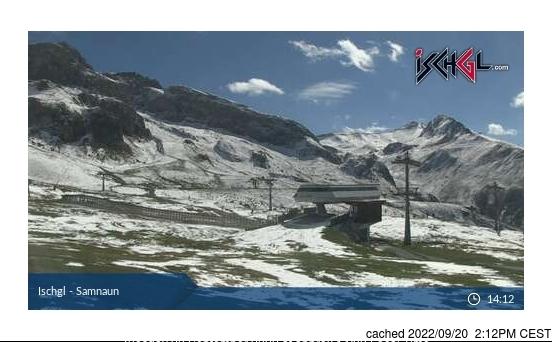 Ischgl Webcam gestern um 14.00Uhr