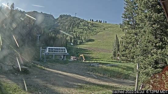 Live Snow webcam for Jackson Hole