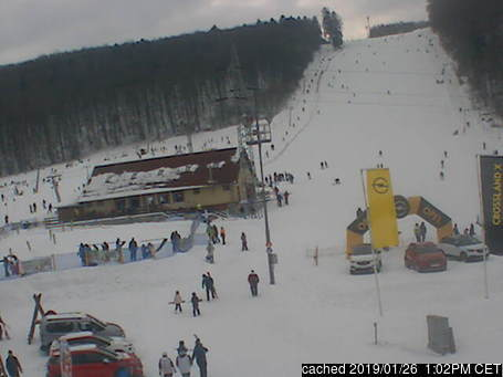 Jahodná webcam at 2pm yesterday