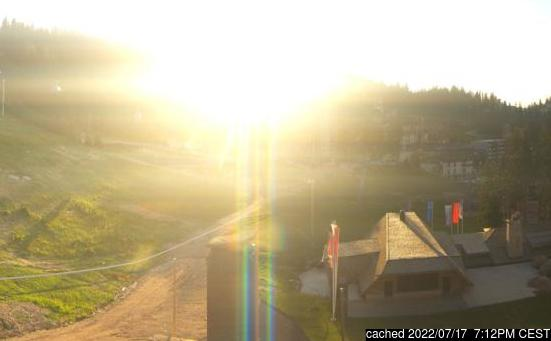 Živá webkamera pro středisko Jahorina