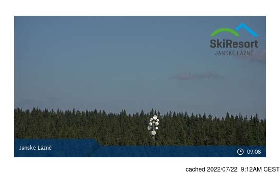 Live Webcam für Jánské Lázně - Černá hora
