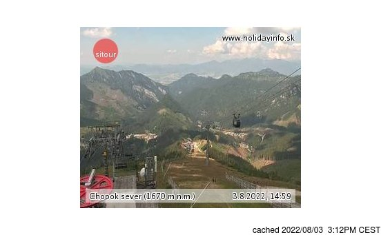 Live Snow webcam for Jasná - Chopok