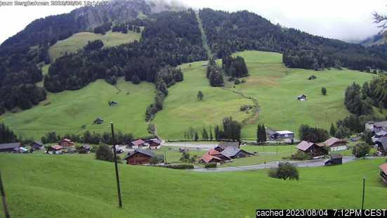 Live Snow webcam for Jaun