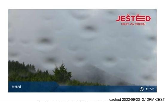 Webcam de Ještěd a las 2 de la tarde hoy