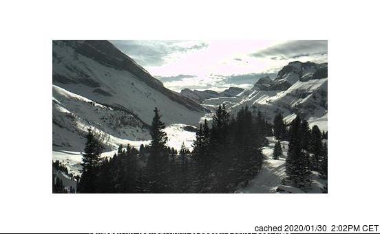 Kandersteg webcam at lunchtime today