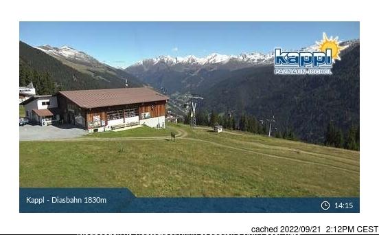 Kappl webcam hoje à hora de almoço