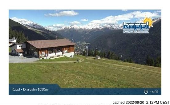 Webcam de Kappl a las 2 de la tarde hoy