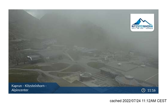 Live Snow webcam for Kaprun