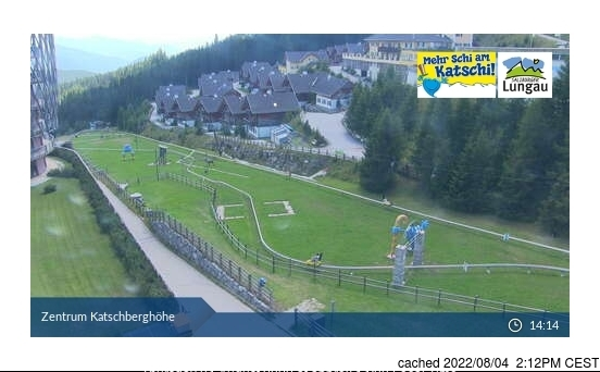 Katschberg-Aineck webcam at 2pm yesterday