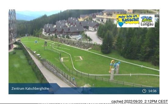 Katschberg-Aineck Webcam gestern um 14.00Uhr