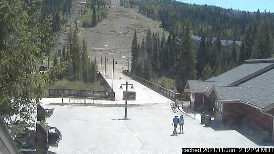 Keystone webcam heute beim Mittagessen