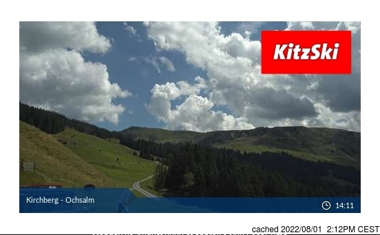 Kirchberg webcam at lunchtime today