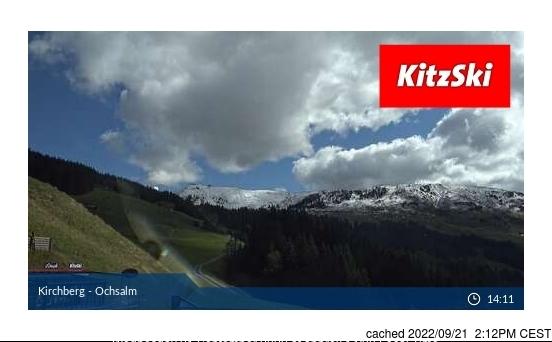 Webcam de Kirchberg à midi aujourd'hui