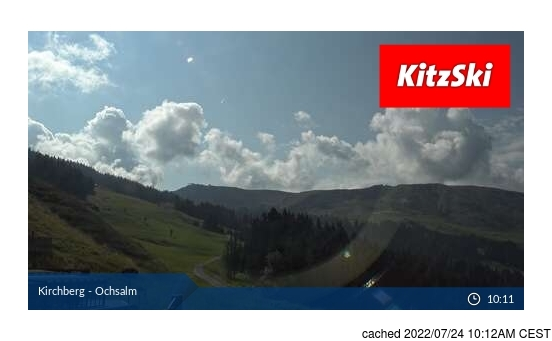 Live Snow webcam for Kirchberg