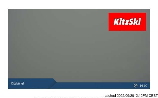 Kitzbühel webbkamera vid kl 14.00 igår