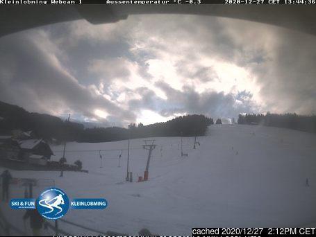 Kleinlobming webcam at 2pm yesterday