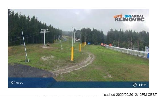 Klínovec webcam alle 2 di ieri sera