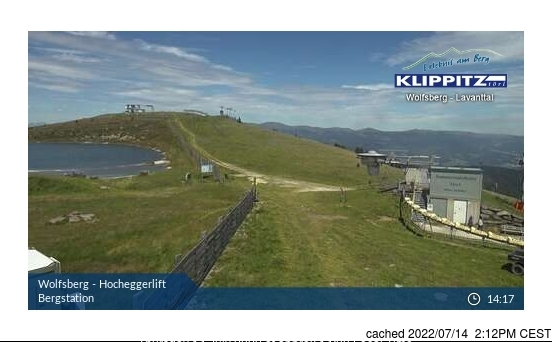 Klippitztörl webcam at lunchtime today