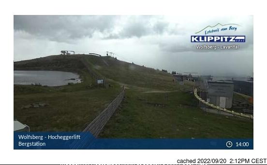 Klippitztörl webcam at 2pm yesterday