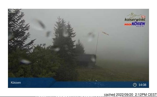 Koessen-Hochkoessen/Unterberghorn webcam at 2pm yesterday