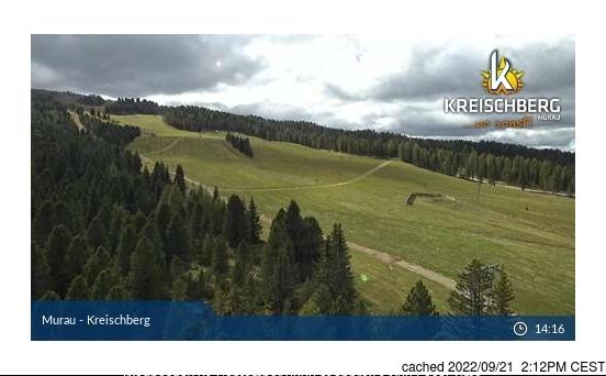Murau/Kreischberg webcam at lunchtime today