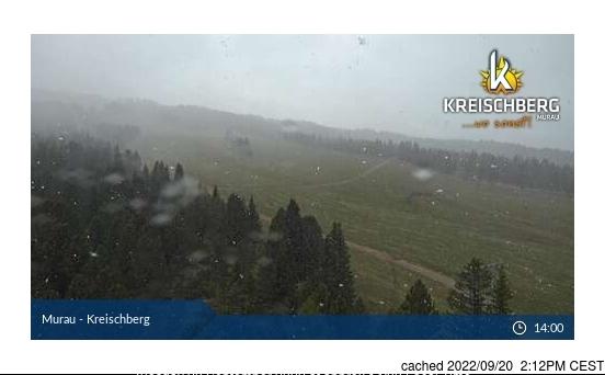 Murau/Kreischberg webcam at 2pm yesterday