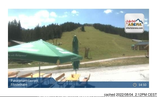 Krimml webcam at lunchtime today