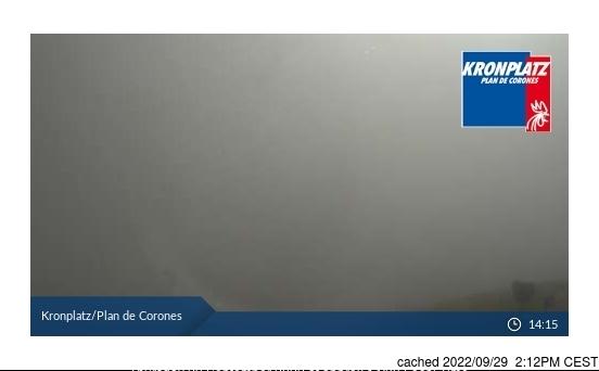 Kronplatz webcam at 2pm yesterday