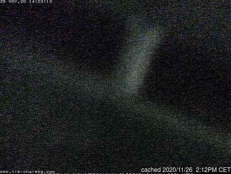 dün saat 14:00'te La Plagne'deki webcam