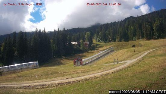 La Tania için canlı kar webcam