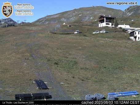 Webcam de La Thuile a las doce hoy