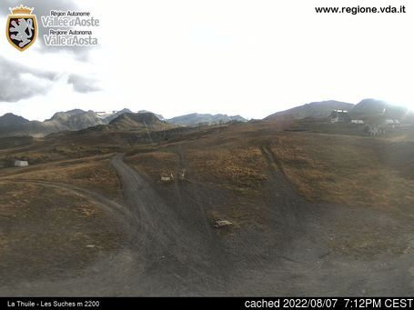 Live Snow webcam for La Thuile